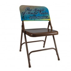 Full Color Chair Back Cover
