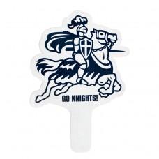 Hand Fan - Knight on Horse