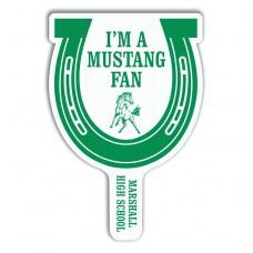 Hand Fan - Horseshoe