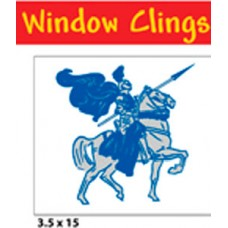 "3.5"" x 15"" Window Cling"