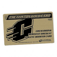 1 color/2 side Discount Card