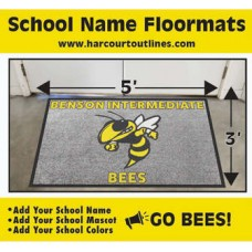 Custom Floor Mat 3 x 5