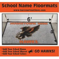 Custom Floor Mat 4 X 6