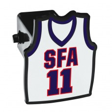 "Hitch Cover - 3 3/4"" x 4 3/4"" Basketball Jersey"