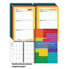 """8.5"""" x 5.5"""" DATED Middle/High School Stock Item Planner"""