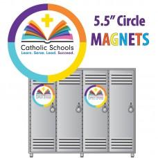 """Magnet - Catholic School Week -  5.5"""" Diameter"""