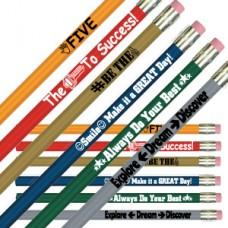 Positive Motivational Pencils