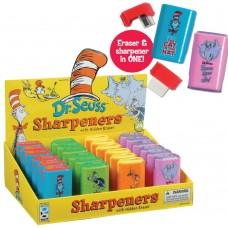 Dr. Seuss Sharpener and Eraser