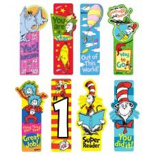 Dr. Seuss Incentive Bookmarks - Bookstore