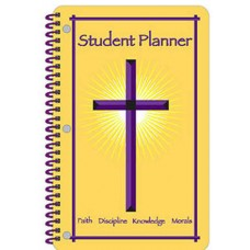 "11"" x 7"" UNDATED Christian Student Planner"