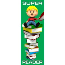 Bookmark - Super Reader - Bookstore