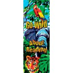 Bookmark - Go Wild About Reading - Bookstore