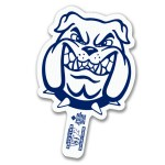 Hand Fan - Bulldog Head