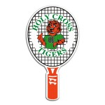 Hand Fan - Tennis Racket