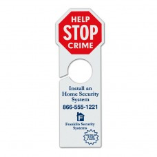 "4"" x 11 3/4"" Stop Sign Door Hanger"