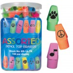 Assorted Pencil Top Erasers