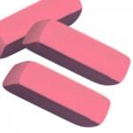 Pink Pearl Erasers (Sanford)