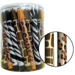 Animal Print Stick Erasers