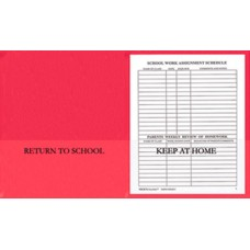 Communication Folders - Red
