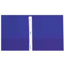 Pocket & Clip Folders - Blue