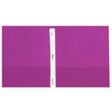 Pocket & Clip Folders - Purple