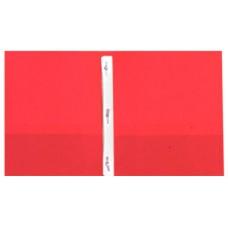 Pocket & Clip Folders - Red