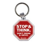 Key Tag -  Stop Sign