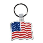 Key Tag - American Flag