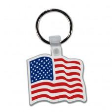 Key Tag - American Flag