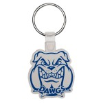 Key Tag - Bulldog Head