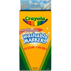 Crayola 8 ct. fine washable