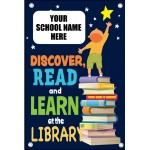 DISCOVER, READ and LEARN at the LIBRARY BANNER