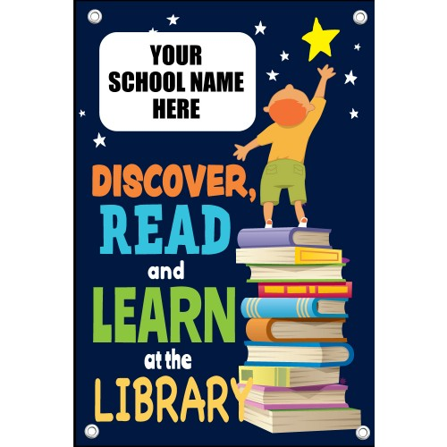 School Library Banners Career Page Banners