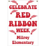 2' x 3' Banner - Celebrate Red Ribbon Week