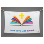 Banner - Catholic School Week - 3X4