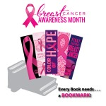 Breast Cancer Awareness - Bookmarks