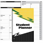 "UNDATED 11""x7"" Student Planners"