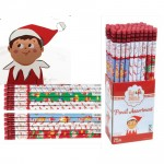 Elf on a Shelf Christmas Pencil Display - Bookstore