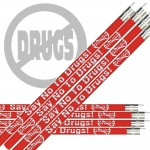 Pencils - Say No To Drugs - Red Ribbon Week