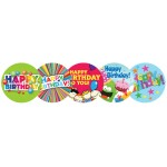 Stickers - Birthday - Bookstore