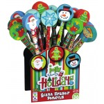 Christmas Giant Eraser Pencils