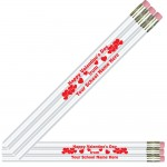 Custom Valentine Pencils
