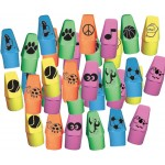Pencil Top Assorted Erasers