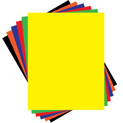 Kraft colored poster board