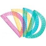Assorted Color Protractors