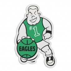 "Plastic Sports Badge - 3.25"" Basketball Player"