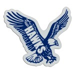 "Plastic Sports Badge - 3"" Eagle"