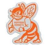 "Plastic Sports Badge - 3"" Hornet"