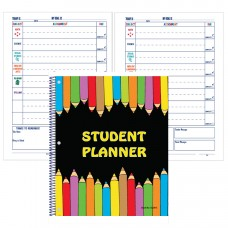 """11"""" x 8.5"""" UNDATED Elementary Student Planners"""