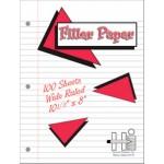 Filler Paper - 100 Sheets